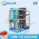 5 toneladas de forma automática el Control de la máquina de hielo de tubo