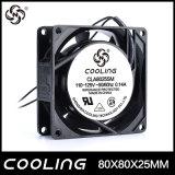 8025 4 axiale Ventilator-Fabrik Zoll Wechselstrom-110V 80X80X25mm