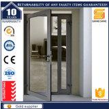 Entrée en aluminium Porte vitrée résidentielle CD60