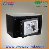 Caja fuerte electrónica de la seguridad para el hogar y la oficina con clave Emergency