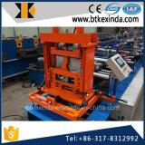 Kxd que preperfora el rodillo automático de la hoja de acero de la correa de C que forma la máquina
