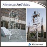 Multi-Utilizar el andamio móvil de aluminio con las escalas