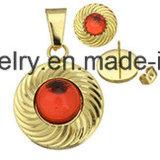 نمو يثبت مجوهرات [غلد بلتينغ] مجوهرات أذن دعامة مع مدلّاة ([إرس6997])