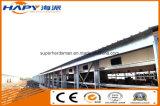 Structure en acier construction avec le design professionnel