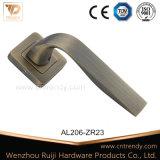 Msb 나무로 되는 문 (AL206-ZR09)를 위한 알루미늄 자물쇠 손잡이