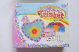 Niños de bricolaje color de la pasta de juguete-Sticky Mosaico-Joyas y Trinket Box