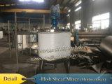 3000 litros de S. S 316 depósito mezclador depósito mezclador de acero inoxidable