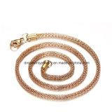 Juwelen van de manier namen Gouden Ketting, de Materiële Halsband van de Legering van het Koper toe