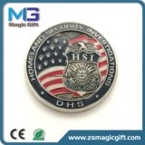 Preiswerte Zoll-Betrieb-Preis-MetallTrophie Medaille