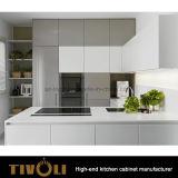 豪華な流行の白い現代食器棚デザイン習慣Tivo-0167h