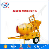 Type 2016 neuf de Jinsheng avec le mélangeur concret portatif de la charge Jzc500 d'individu