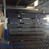Rete metallica della parte superiore piana dell'acciaio inossidabile di alta qualità per industria pesante
