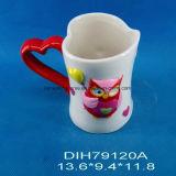 Tazza di ceramica Heart-Shaped tè/del caffè