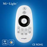 Mi. 軽い2.4G WiFi 4つのゾーンの遠隔コントローラの調節可能な調光器