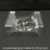 ヘッドセットのプラスチックパッキングのためのカスタムPVC/Petのクラムシェルのまめの皿