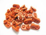 Kundenspezifische geformte Einwegsilikon-Gummi-Wasser-Regelventile für Dampf-Motor