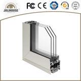 Vente directe personnalisée par usine de guichet en aluminium de tissu pour rideaux de la Chine