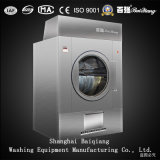 Dessiccateur industriel complètement automatique de blanchisserie du chauffage de vapeur 25kg (acier inoxydable)