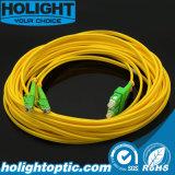 E2000AデュプレックスSmの黄色への光ファイバPatchcord Sca
