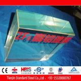 Prueba de la radiación de plomo de cristal 20mm 40mm 150mm ZF6 ZF7