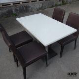 現代白く小さいRetaurantのコーヒーテーブルおよび椅子