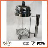 Pressa calda del caffè della pressa del francese dell'acciaio inossidabile del creatore di caffè di vendita di Wschsy006 Amazon