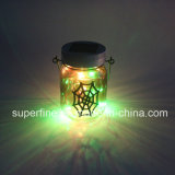 Bello indicatore luminoso leggiadramente solare decorativo d'attaccatura del vaso di Halloween LED