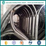 Papel que hace el molde usado del cilindro del acero inoxidable