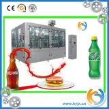 3 automática em 1 máquina de enchimento de água mineral para frasco de plástico