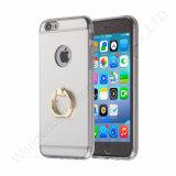 iPhone 7のための指リングのホールダーが付いている擁護者の電話箱
