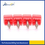 Máquina herramienta CNC sólida de la nariz de la bola de las flautas del micr3ofono 2 del carburo del tungsteno