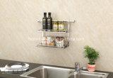 Cuisine moderne support double couche de matériel en acier inoxydable DFG-324