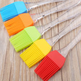BPA Free Multi-usage Eco-Friendly Baking BBQ Tools Brosse à huile en silicone