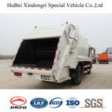 10-12cbm Dongfeng 유로 4 후방 선적 4X2 쓰레기 쓰레기 압축 분쇄기 트럭