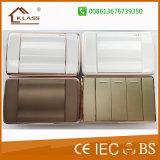 Nuevo diseño de acero inoxidable pulido Pista doble toma de Tailandia