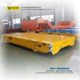 Vehículo de transporte accionado CA de la paleta del coche de carril para la fabricación de papel