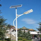 統合された指導者のハイブリッド太陽街灯の道ランプ