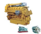 2000Vシリーズ海洋エンジン(800~1000Kw)の水によって冷却される軽量の低い燃料消費料量