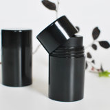 bouteille noire lustrée du tamis 50ml pour la poudre de soins capillaires (PPC-PB-1702)