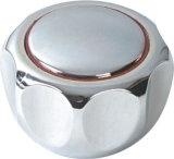 Traitement de robinet en plastique d'ABS avec le fini de chrome (JY-3023)