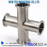 Aço inoxidável 304 Adaptação sanitária 90 graus Clamp Elbow