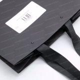 Bolso de lujo de la cartulina del papel del paño de la ropa