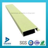 La poudre de qualité a enduit le profil d'extrusion de l'aluminium 6063 pour le marché du Nigéria