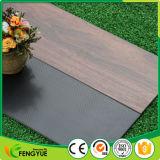 Tablón de madera del tecleo del vinilo del PVC de fábrica de la nuez superventas del precio
