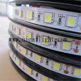 Tira larga de Flexibe 5050 LED del grado de la tapa de la alta calidad de la vida útil