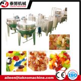 Die automatische Gelee-Süßigkeit beenden, die Maschine herstellt