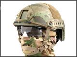 [أنتيو-بوونس] [كربون-فيبر] خضراء عسكريّة تكتيكيّ تدريب خارجيّة يسافر [أنتي-بولّت] [هد-بروتكأيشن] خوذة تجهيز