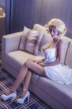 Muñecas adultas realistas del amor de la muñeca sólida del amor de la certificación del Ce para el buen precio de fábrica de la muñeca masculina del sexo para la agencia