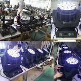 段階の照明B目K10 RGBWのズームレンズ19X15W LEDの移動ヘッド