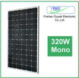 Panneau solaire avec le panneau solaire mono 320W de bâti d'alliage d'aluminium